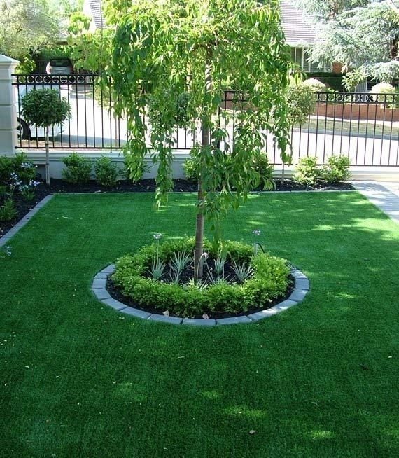 1000+ Ideas About Small Front Yards On Pinterest   Small Front within Landscaping Ideas For Front Yard Trees