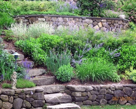 17 Best Ideas About Backyard Hill Landscaping On Pinterest   Hill pertaining to Small Garden Ideas On A Hill