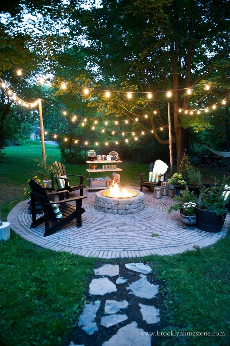 17 Best Ideas About Backyard Lighting On Pinterest | Patio regarding Garden Light Ideas For A Party