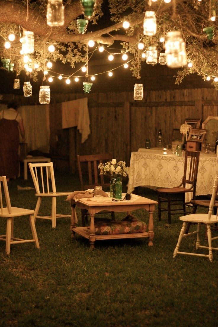 17 Best Ideas About Backyard Party Lighting On Pinterest   Ping within Garden Light Ideas For A Party