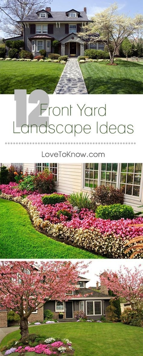 Landscaping ideas for front yard flower beds garden design for Flower landscaping ideas for front yards