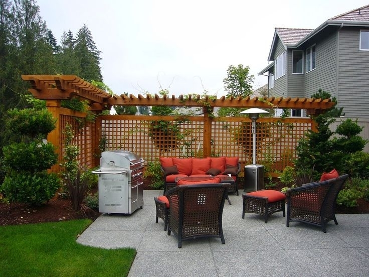 17 Best Ideas About Patio Privacy On Pinterest | Balcony Privacy inside Small Backyard Landscaping Ideas For Privacy
