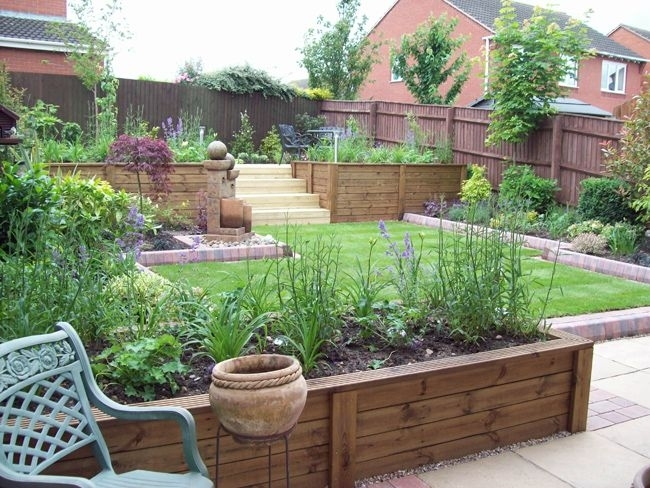 17 Best Ideas About Tiered Garden On Pinterest | Tiered Landscape for Landscaping Ideas For Small Sloping Garden