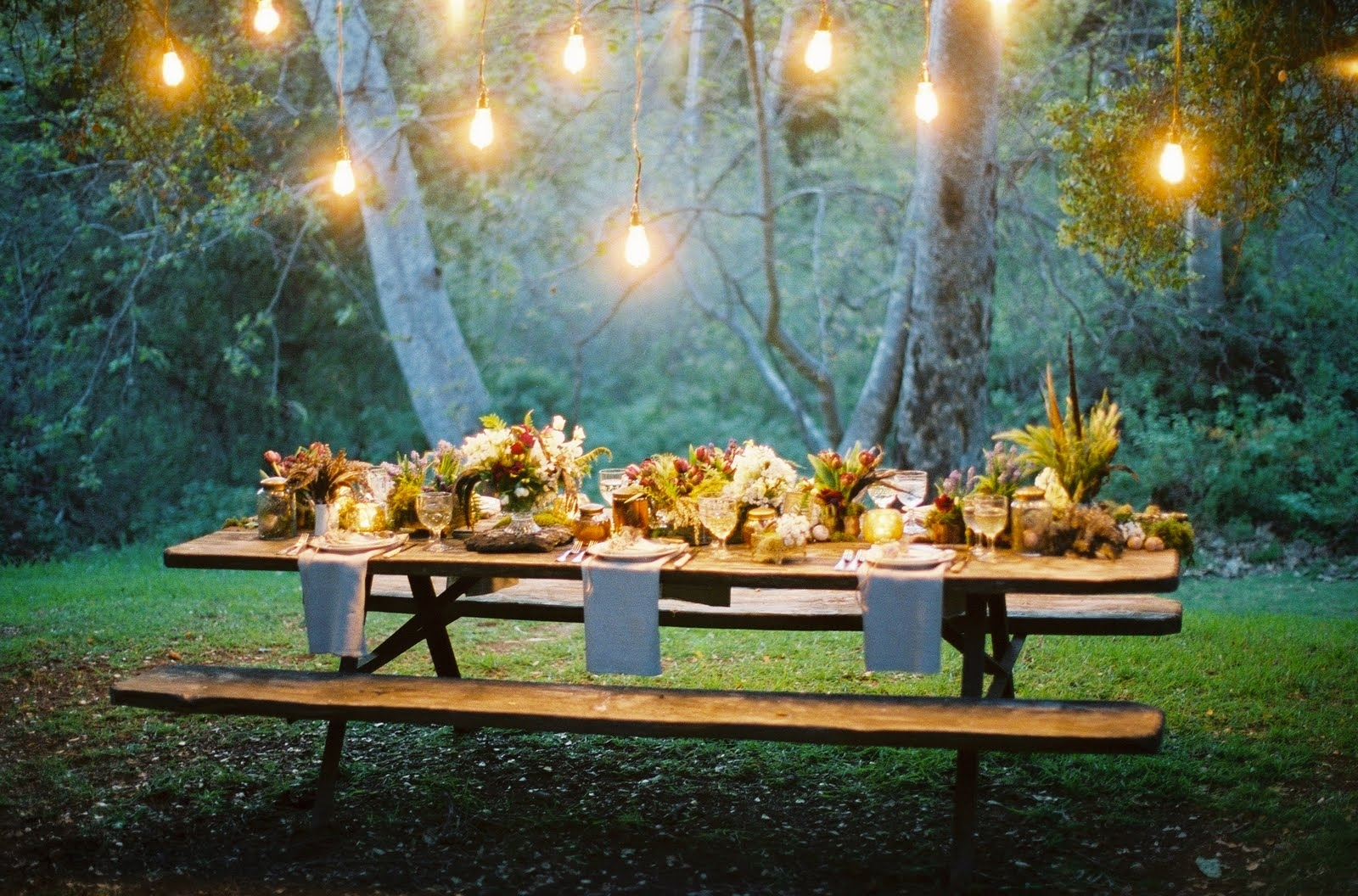17 Best Images About Garden Party On Pinterest | Outdoor Parties for Garden Light Ideas For A Party