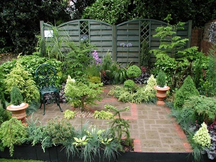 17 Best Images About Small Courtyard Garden Ideas On Pinterest intended for Garden Designs For Small Courtyard Gardens