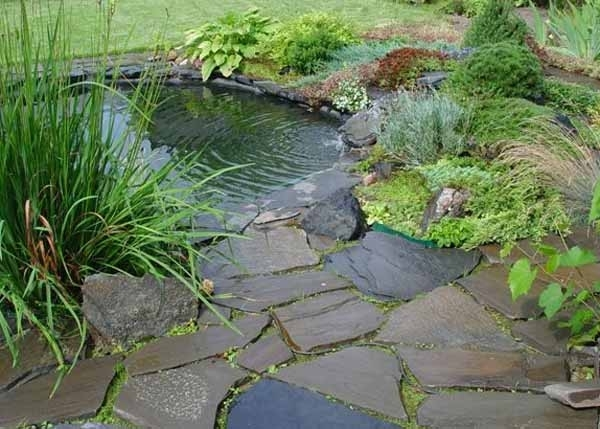 21 Garden Design Ideas, Small Ponds Turning Your Backyard for Garden Pond Ideas For Small Gardens