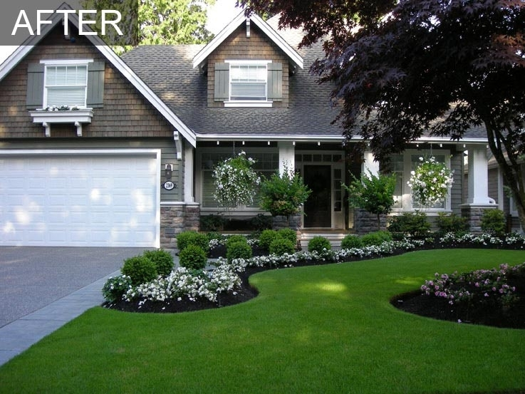 25+ Best Ideas About Front House Landscaping On Pinterest | Front in Landscape Ideas For Flower Beds Front Yard