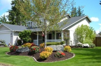 25+ Best Ideas About Front Yard Landscape Design On Pinterest with regard to Landscaping Design Ideas For Small Front Yard