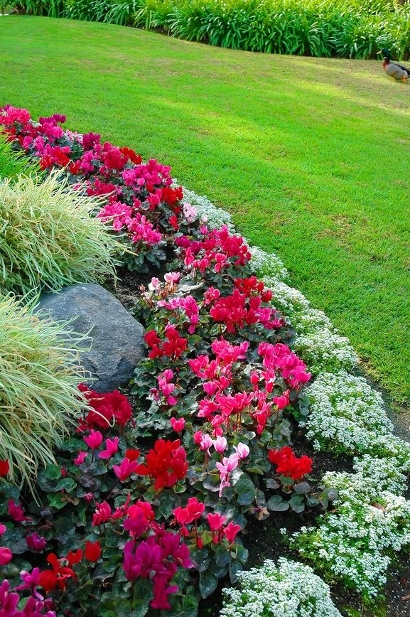25+ Best Ideas About Front Yard Landscaping On Pinterest | Yard pertaining to Landscape Ideas For Flower Beds Front Yard