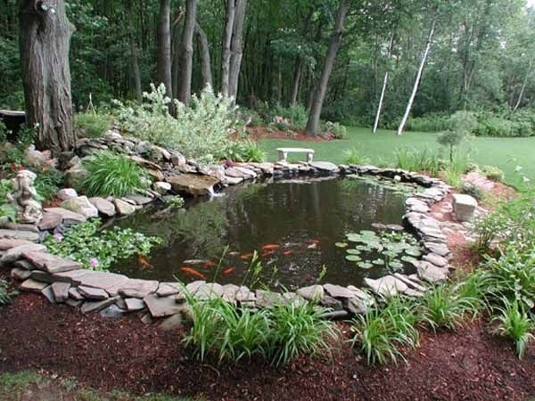 25+ Best Ideas About Small Backyard Ponds On Pinterest   Small in Garden Pond Ideas For Small Gardens