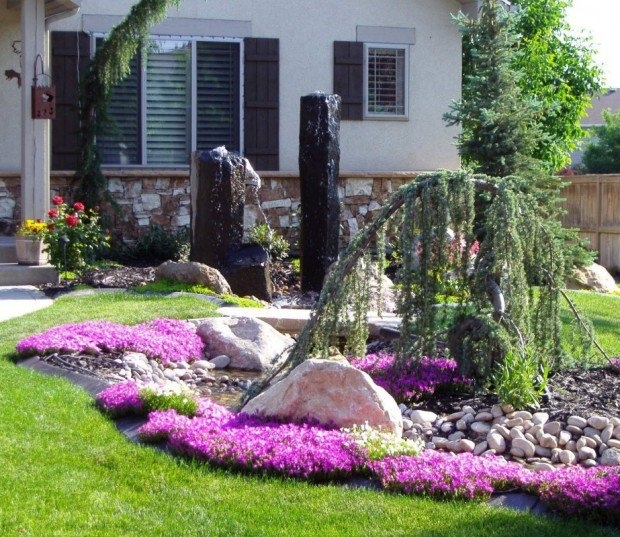 28 Beautiful Small Front Yard Garden Design Ideas - Style Motivation with regard to Garden Landscaping Ideas For Small Front Garden