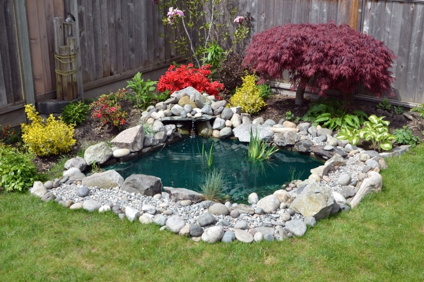 37 Backyard Pond Ideas & Designs (Pictures) within Garden Pond Ideas For Small Gardens