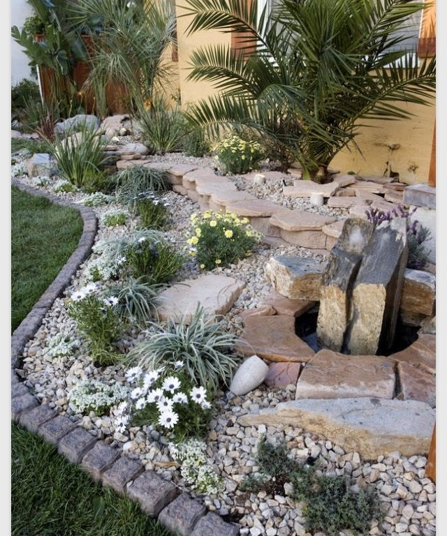 483 Best Images About Rock Garden Ideas On Pinterest   Gardens inside Rock Garden Ideas For Small Gardens