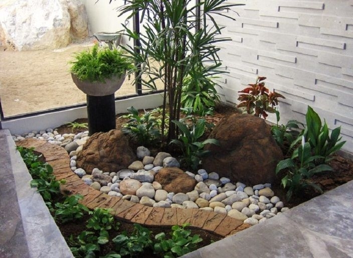 483 Best Images About Rock Garden Ideas On Pinterest   Gardens with Rock Garden Ideas For Small Gardens