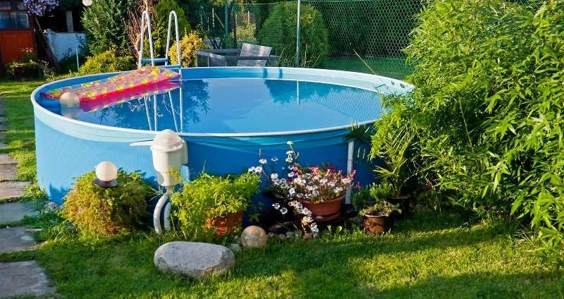 5 Above Ground Pool Ideas For Small Yards within Small Backyard Landscaping Ideas With Above Ground Pool