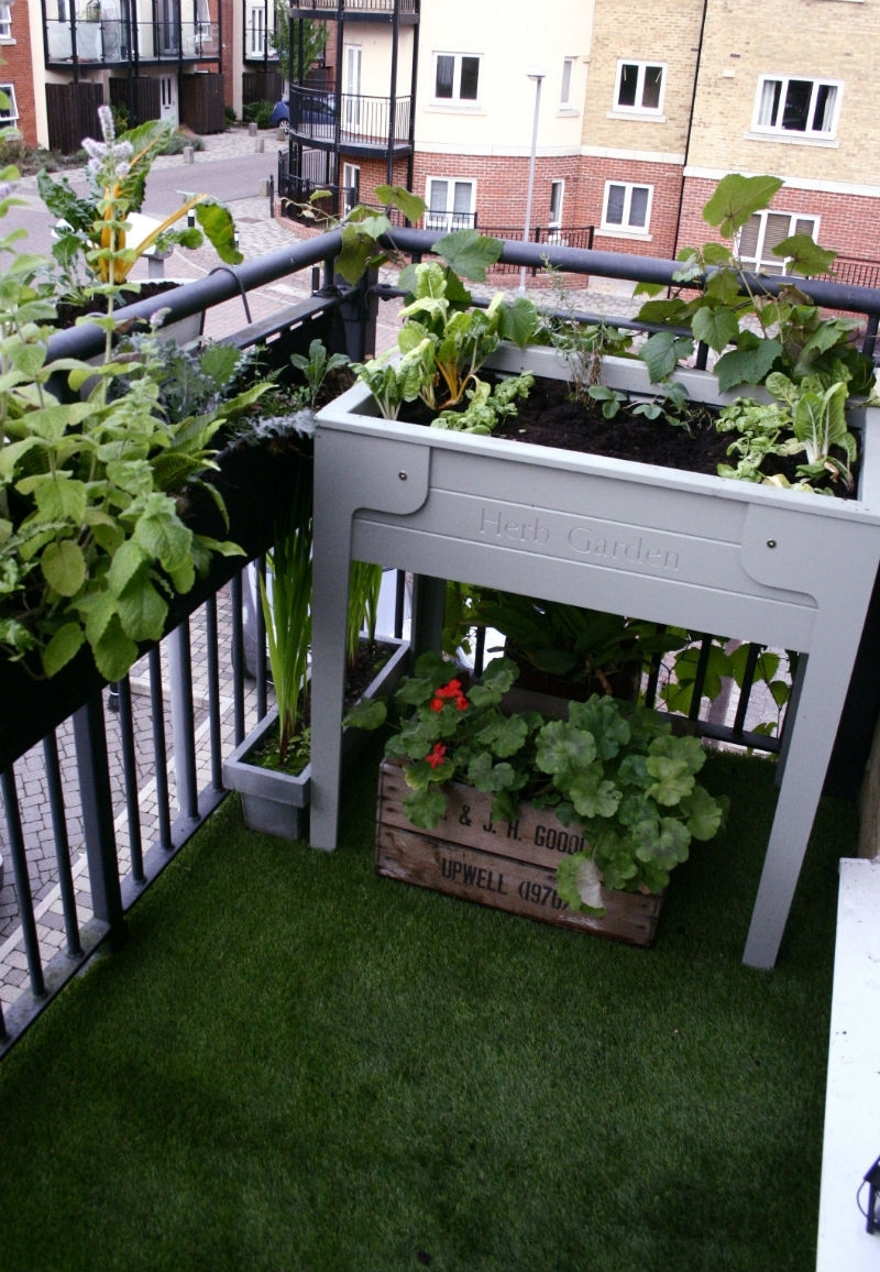 Apartment. . Elegant And Creative Balcony Garden Designs   Balcony for The Best Ideas For Laurel Gardens Apartments