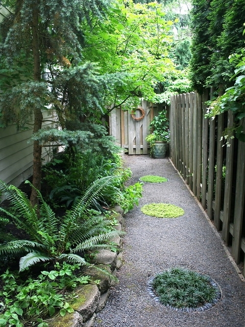 Boggy Shady Side Yard Ideas, Pictures, Remodel And Decor Inside Landscaping  Ideas For Small. U201c