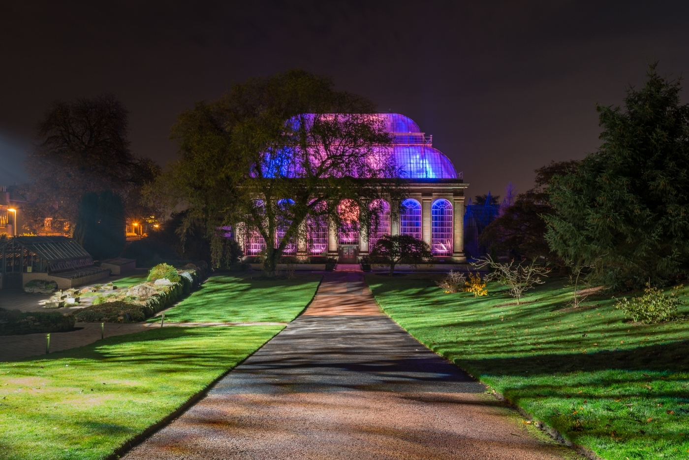 Edinburgh - Event – Night In The Garden, 30Th October – November throughout Botanic Garden Edinburgh Light Show