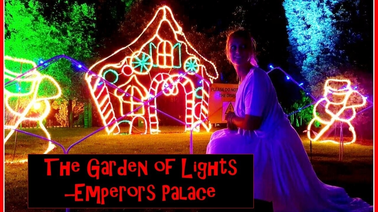 Emperors Palace Garden Of Lights || The Purple Gypsy - Youtube for Garden Of Light At Emperors Palace