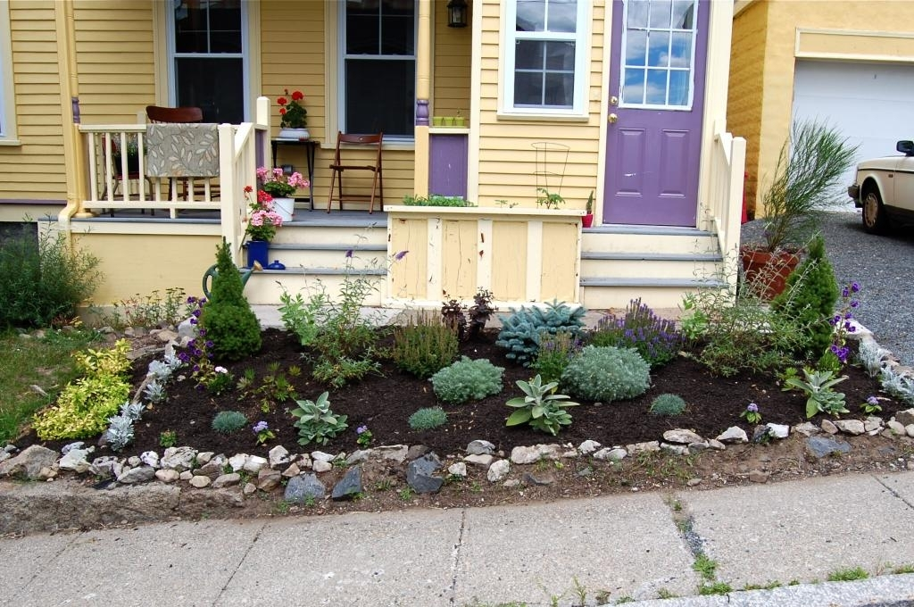 Front Yard Landscape Ideas Beach Front Yard Rock Garden Designs intended for Rock Garden Ideas For Front Yard
