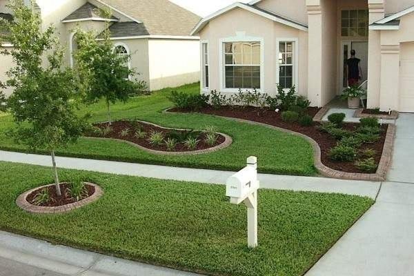 Front Yard Landscaping Ideas | Gardens, Front Yard Landscaping And intended for Landscape Ideas For Front Yard Simple