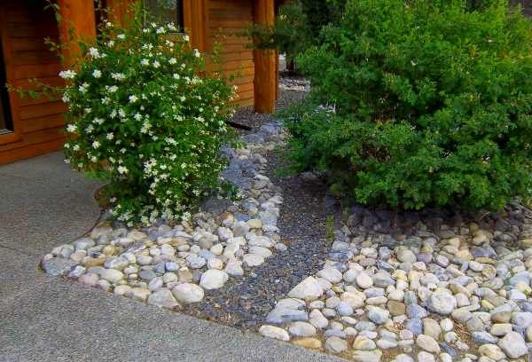 Front Yard River Rock Landscaping Ideas Are Easy Ways To Eliminate with regard to Rock Garden Ideas For Front Yard
