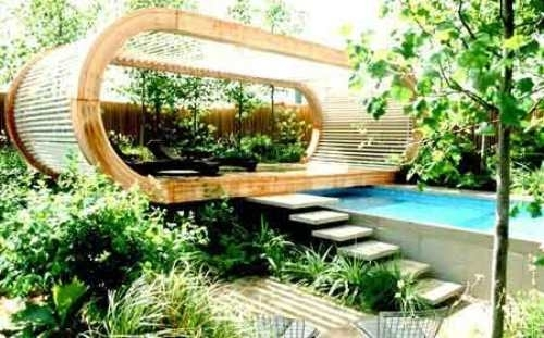 Garden Design Ideas Long Narrow Gardens | Home Design Ideas Regarding Garden  Plans For Long Narrow
