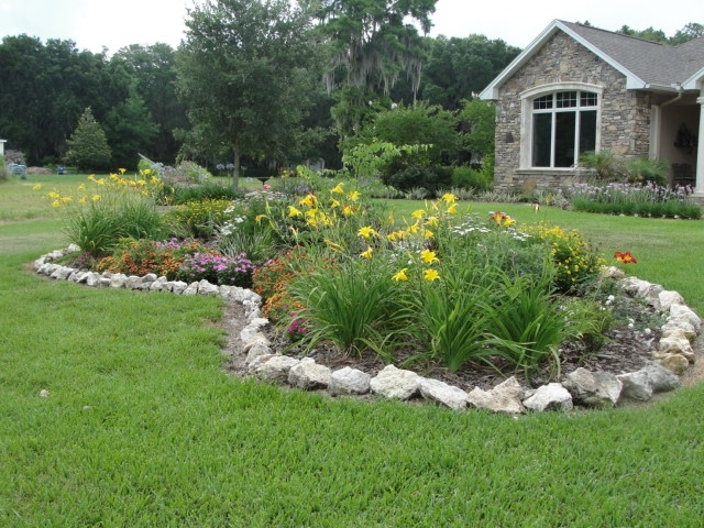 Garden Island Ideas with regard to Landscaping Ideas For Front Yard Island