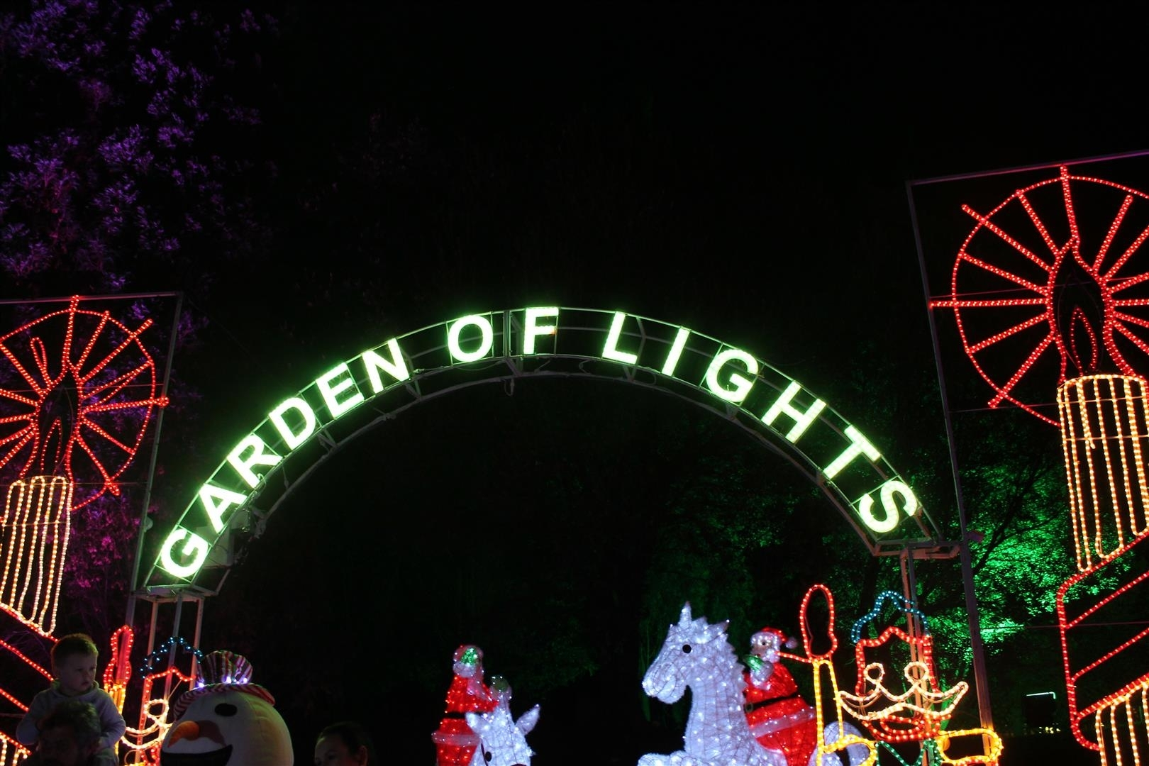 Garden Of Lights | Events | Brakpan Herald for Garden Of Light At Emperors Palace