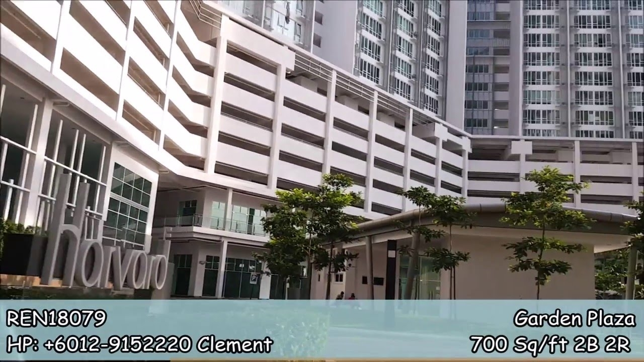 Garden Plaza Cyberjaya For Rent/sale 700 Sq/ft 2B 2R - Youtube for Plaza Garden Apartments