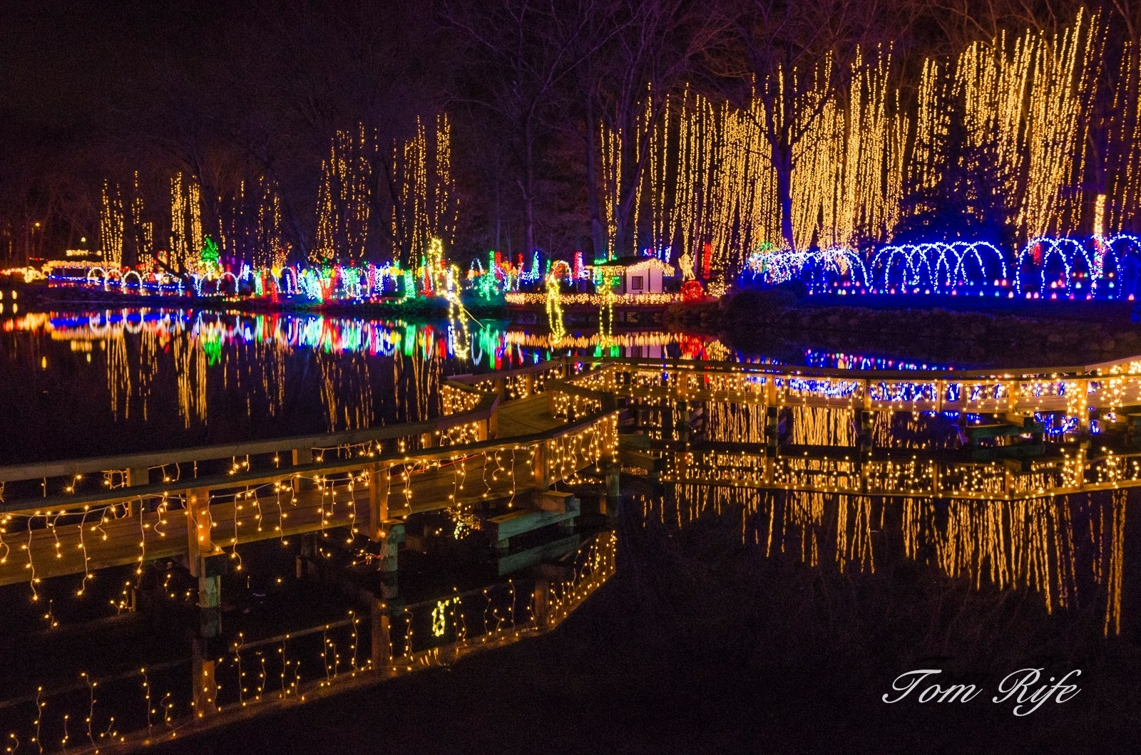 Holiday Light Show - Rotary Botanical Gardens with Rotary Garden Light Show Janesville Wi