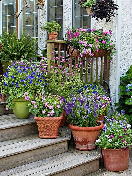 How To Group Container Gardens Together Camouflage Container in Shorter Garden Apartments