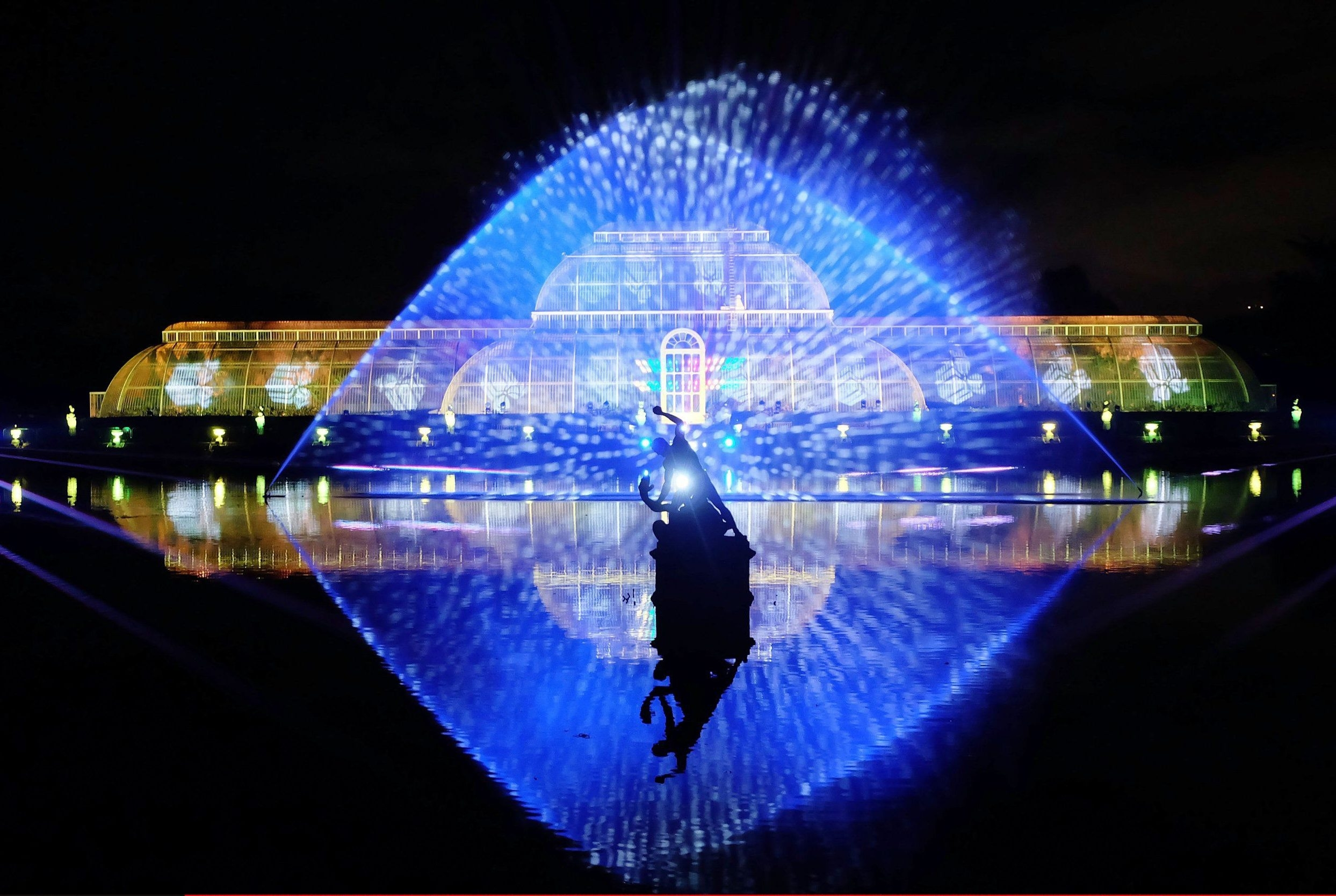 Kew Gardens Leads Our List Of 12 Stunning Christmas Light Displays for Botanic Garden Glasgow Light Show