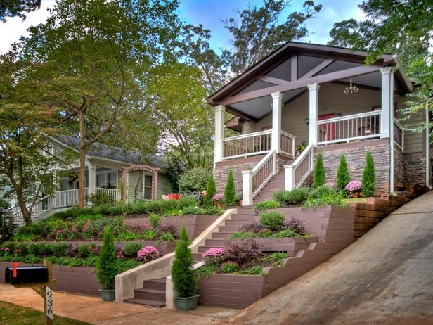 Landscape Ideas For Front Yard With Hill – Thorplc inside Landscaping Ideas For Front Yard On A Hill