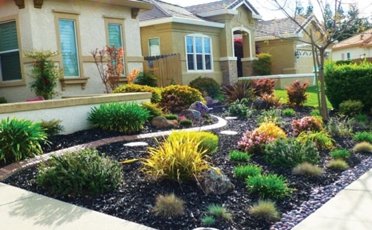 Landscape Ideas For Front Yards Without Grass - Modern House inside Landscaping Ideas For Front Yard No Grass