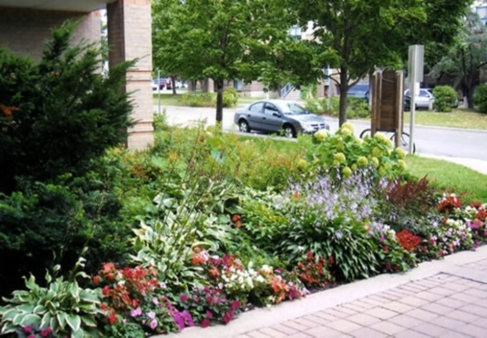 Landscaping Ideas For Small Front Yards intended for Garden Designs For Small Front Yards