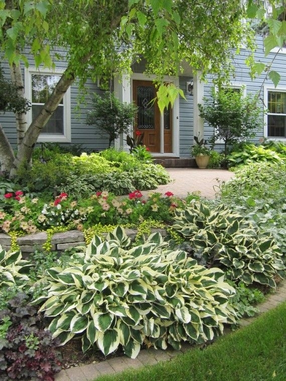 Landscaping ideas for front yard of semi detached garden for Semi d house garden design