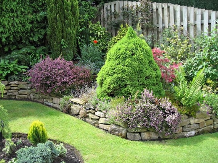Lavish Front Garden Design Semi Detached With Front Garden Wall inside Landscaping Ideas For Front Yard Of Semi-Detached