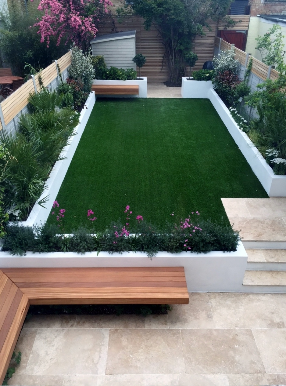 Modern Garden Design Ideas Fulham Chelsea Battersea Clapham with Best Layout For Chelsea Gardens Apartments Design Ideas