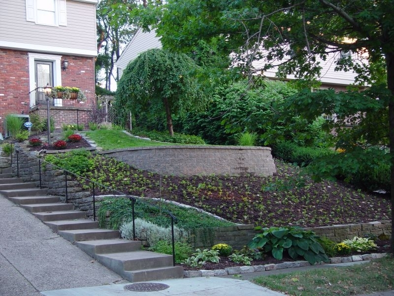 Landscaping Ideas For Front Yard With Slope - Garden Design