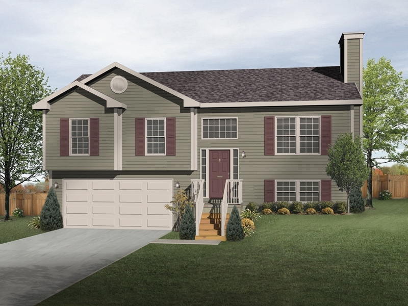 Oaklawn Split-Level Home | Landscaping, House Colors And Home pertaining to Landscaping Ideas For Front Yard Tri-Level