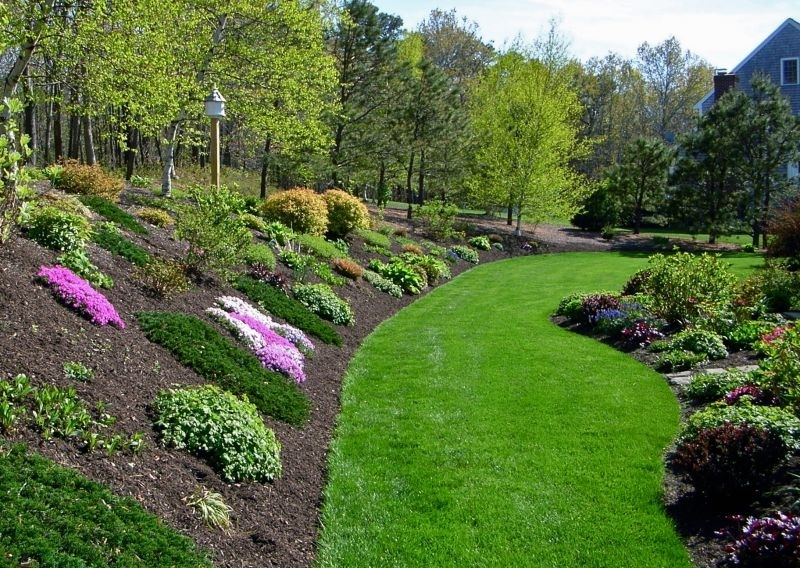 Planting Ideas For A Hill Side | Gardening With Flowers pertaining to Small Backyard With Hill Landscaping Ideas