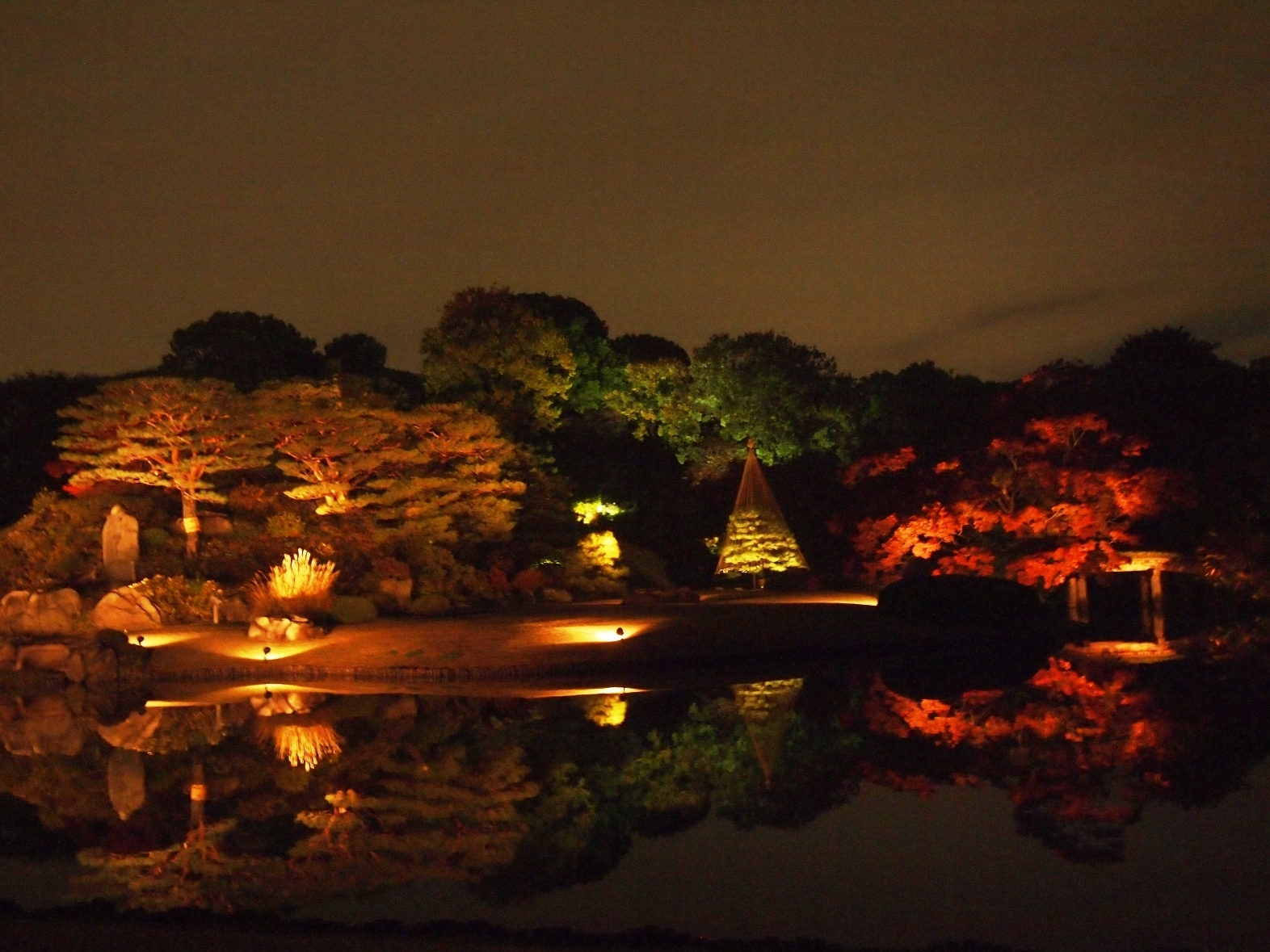 Rikugien Autumn Light Up | Life To Reset intended for Rikugien Garden Autumn Light Up