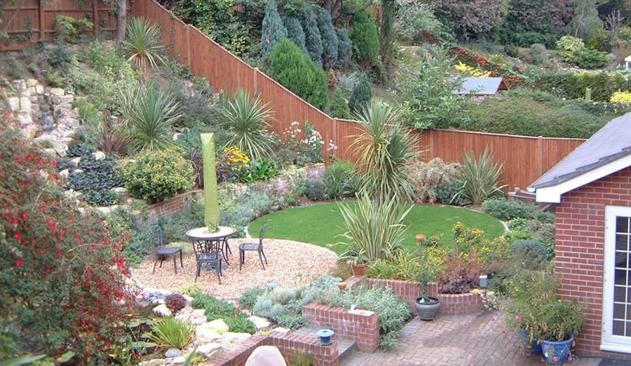 Sloping Garden Ideas Unusual Sloping Gardens Projects Garden with Small Garden Ideas On A Slope