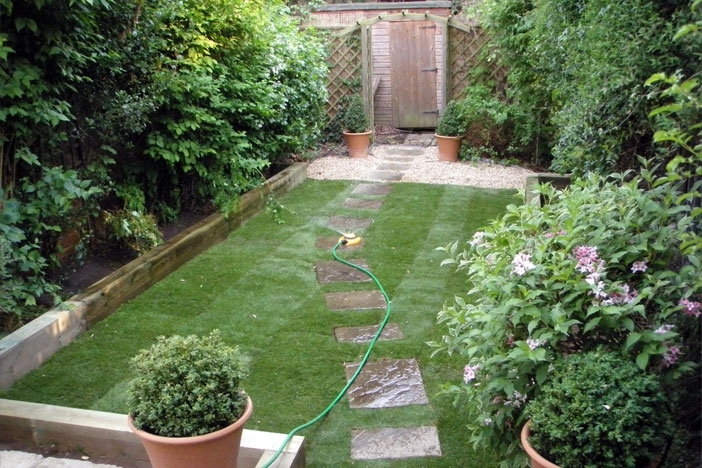 Garden design for small back gardens garden design for Back garden designs
