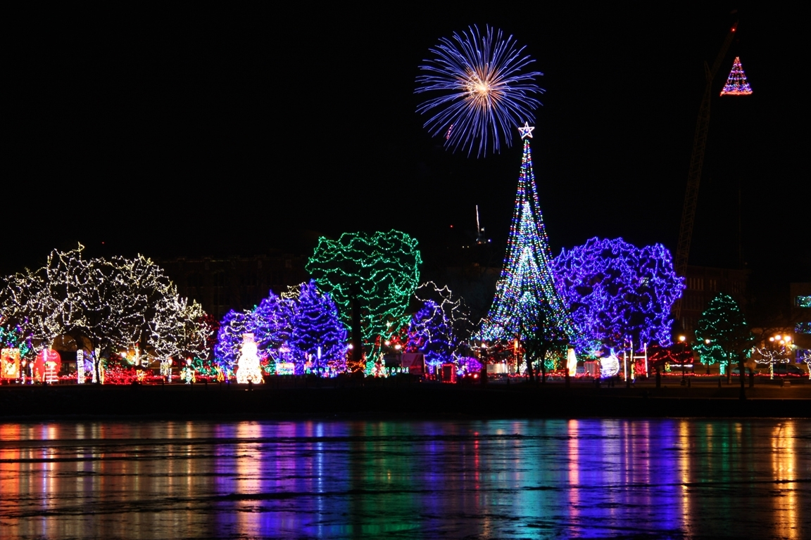 These 7 Wisconsin Cities Are Home To Dazzling Holiday Light Shows intended for Rotary Garden Light Show Janesville Wi
