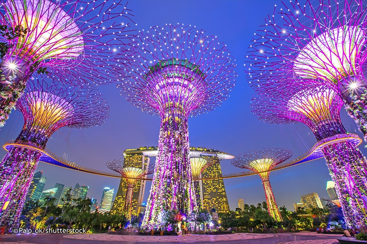 Three Great Light Shows In Singapore – Evening Sound And Light Shows in Garden Rhapsody Light And Sound Show
