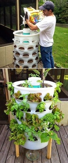Tower Garden-I Have Something Like This Only Shorter, For in Shorter Garden Apartments