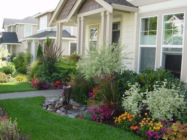 141 Best Images About Front Yard Landscaping On Pinterest   White regarding Landscaping Ideas Front Yard Bay Window