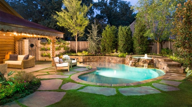 15 Amazing Backyard Pool Ideas | Design, Swimming And Backyards intended for Landscape Design Small Backyard With Pool